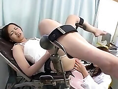 Bonito Tesão Coreano Garota Fodida