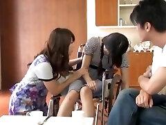 nsps-145 homem chantageia marido para que ele possa seduzir sua namorada e esposa