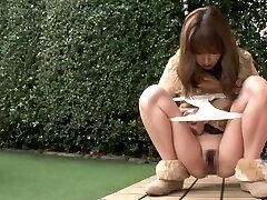 exótico menina japonesa na incrível exterior, hd jav clip