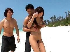 trio japonês ao ar livre para adolescentes amadores-mais em 69avs.com
