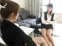 luta sexual lésbica chinesa