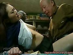 Japonês MILF gosta de sexo quente part6