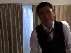 o chefe HusbandYuka Honjo