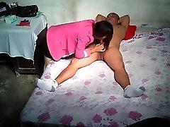 prostituta asiática escondida cam com cliente
