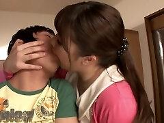 Exotic Japanese model in Crazy Wife, HD JAV vid