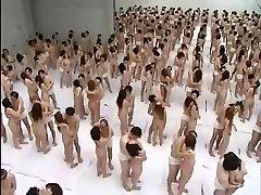 Giant Group Sex Orgy