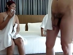 Couple share chinese hooker for swing asia naughty part 1