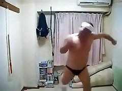 Erotic Horny Japanese Masculine Dancing