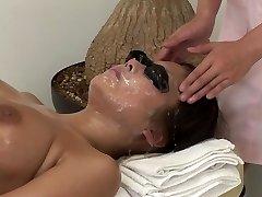 JAV utter body bizarre cum facial massage clinic Subtitled