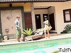 Doll gets hooked up by a smart guy and invited for a fuck