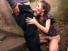 Naughty Japanese model Ruri Saijou in Exotic JAV censored Drink, Gangbang scene