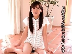 Tiny Rimu Sasahara squirts when fingered then gets boned
