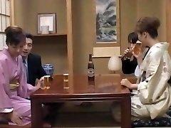 Milf in warms, Mio Okazaki, enjoys a wild fuck