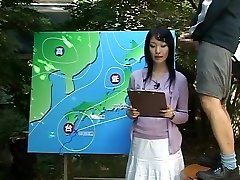 Name of Chinese JAV Damsel News Anchor?