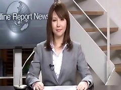 Real Asian news reader two