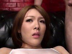 Facial to end Reis nasty porn escapade