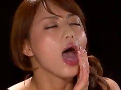 Epic Japanese model Akiho Yoshizawa in Gorgeous POV, Facial JAV scene