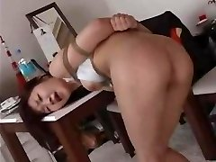 Spanking & Cropping A  Japanese OL