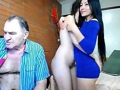 Asian Girlfriend Suck Lick