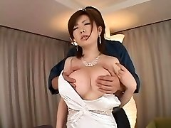 Rio Hamasaki fingered and fucked