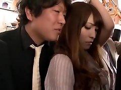 Crazy Japanese girl Kokomi Sakura in Finest Finger-tickling, Public JAV clip