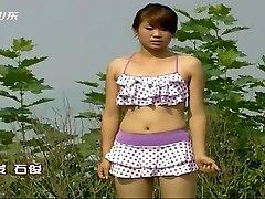 Chinese TV game show nipple slips