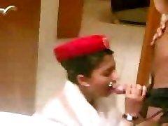 arab emirate steward cabin oral before the flight