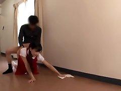 Karstākie Āzijas video ar Trijatā,Japāņu ainas