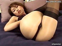 stockings covered nylon stockings legs