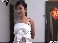 Chinese girl in bondage
