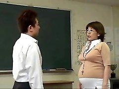 Knocked Up Japanese babes getting slammed