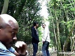 Stranded Teenie in the Woods