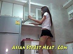 Bangkok Apartment Maid Buggered For New Handbag
