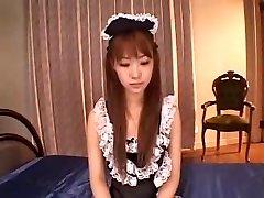 JAPANESE MAID DP Internal Ejaculation