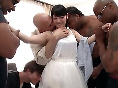 Rei Mizuna in Rei Does Her First-ever Interracial Gang-bang - TeensOfTokyo
