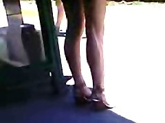 High Stilettos Asian Teen