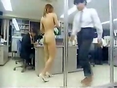 Japanese Girl At Work Naked