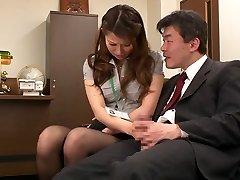 Nao Yoshizaki in Sex Victim Office Lady part 1.2