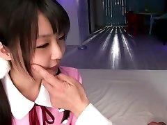 Awesome Japanese girl in Fabulous JAV censored Fingering, Diminutive Tits movie