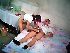 Chinese John With Youthful Escort