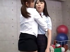 Finest Japanese model Sae Aihara, Ren Hasumi, Megumi Shino in Horny Lesbian/Rezubian, Frigging JAV flick