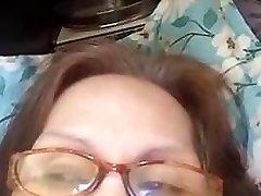 Grandma Evenyn Santos does ass-fuck show again.