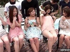 Asians are getting their wet vulvas fingered real deep