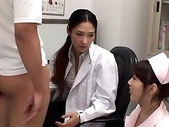 Exotic Japanese chick Rina Fukada, Haruna Saeki, Maki Mizusawa in Best Jizz Shot, Three Way JAV movie