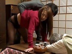 Gorgeous Japanese model Akari Minamino, Marin Nagase in Incredible Wife JAV movie