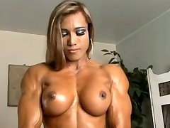 Thai Dame with muscles