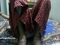 desi telugu indian village couple wife naked plowed on floor