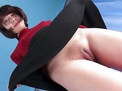 Hot Asian Fuckbox Camel-toe Closed-up
