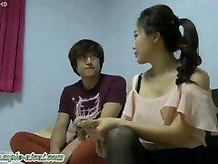 Korean Goddess Loves Slave Licking Her Feet