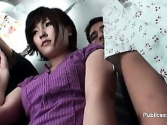 Awesome asian milf shows her underpants part4